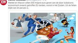 «Όχι άλλα λεφτά στον ευρωπαϊκό νότο»: Προκλητικότατο πρωτοσέλιδο από ολλανδικό