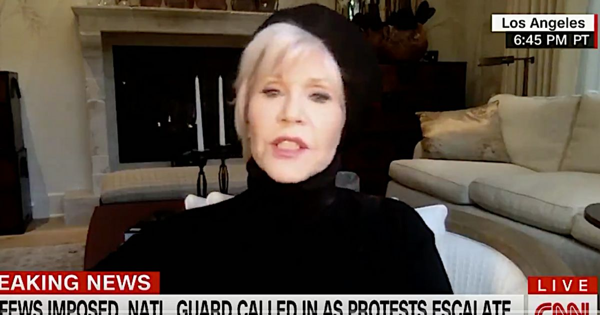 Jane Fonda Nails 2 Paths To Overcoming Racism While Praising George Floyd Protesters