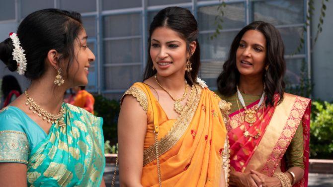 Richa Moorjani who plays Kamla in 'Never Have I Ever'