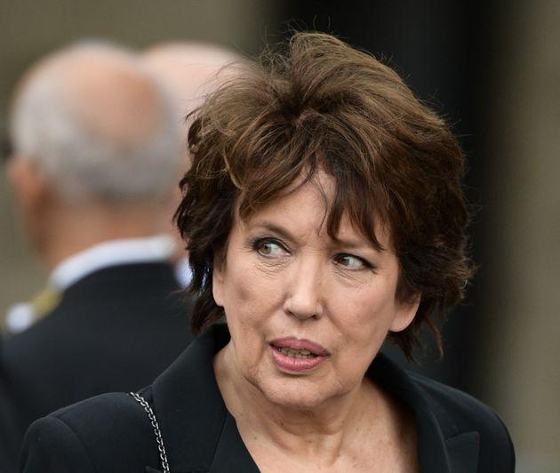 Roselyne Bachelot, ici à Paris le 30 septembre