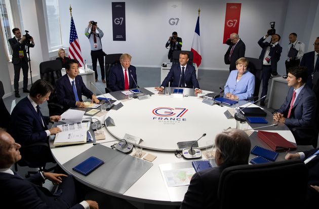 Le dernier sommet du G7 a eu lieu en France en août