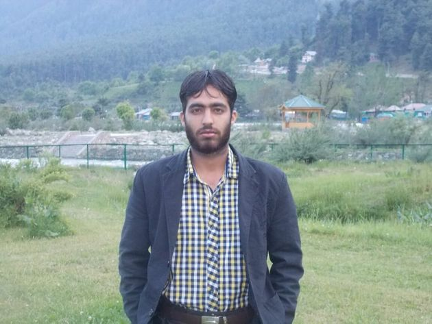 Saifullah Mir in the tourist town of Pahalgam in