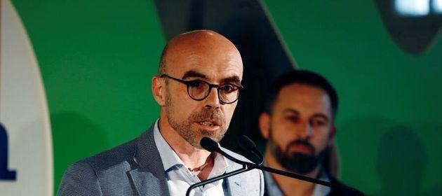 El candidato de Vox al Parlamento Europeo, Jorge