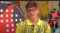 Muere a los 17 años Alejandro Gama, promesa del pádel