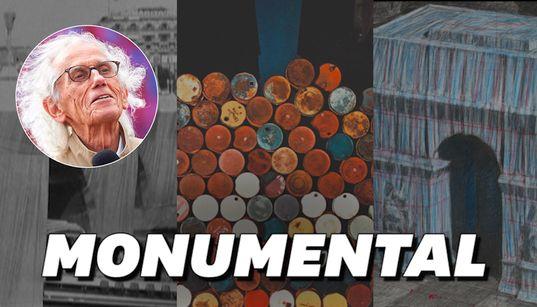 Les œuvres monumentales de Christo qui ont marqué la fin du 20ème