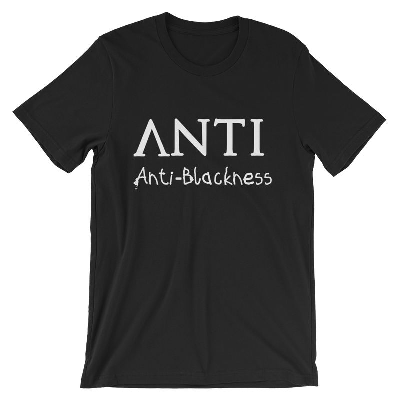 """Get the """"ANTI"""" unisex tee from Black Bourgeois for $25"""