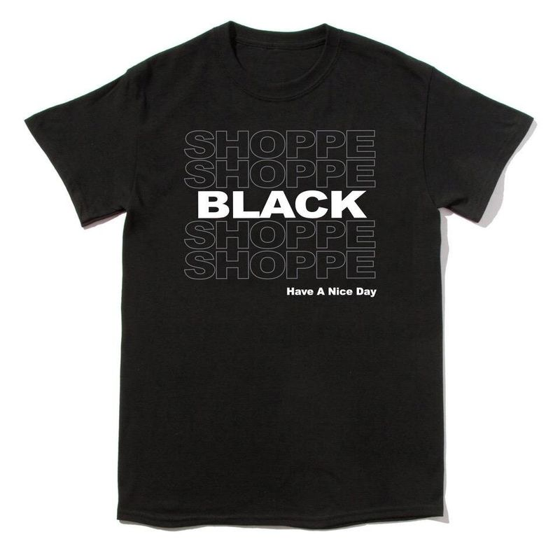 """Get the""""Shoppe Black"""" T-shirt from Shoppe Black for $25"""