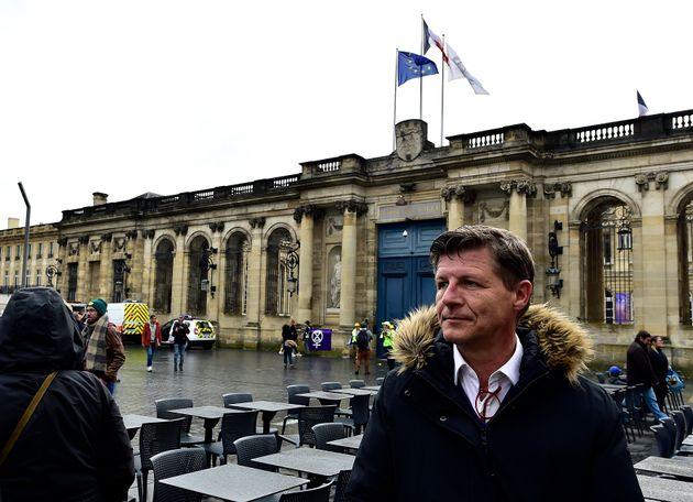 Nicolas Florian, maire sortant de Bordeaux et tête de liste