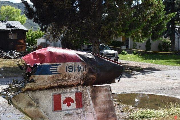 The crash near Kamloops, B.C. killed air force Capt. Jenn Casey, a public-affairs officer riding as a...