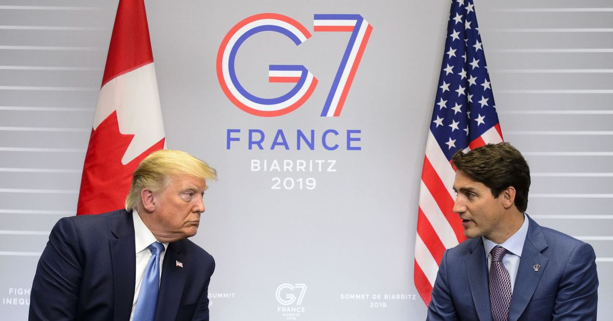 Trudeau Shuts Down Trump's Suggestion To Readmit Russia To G7