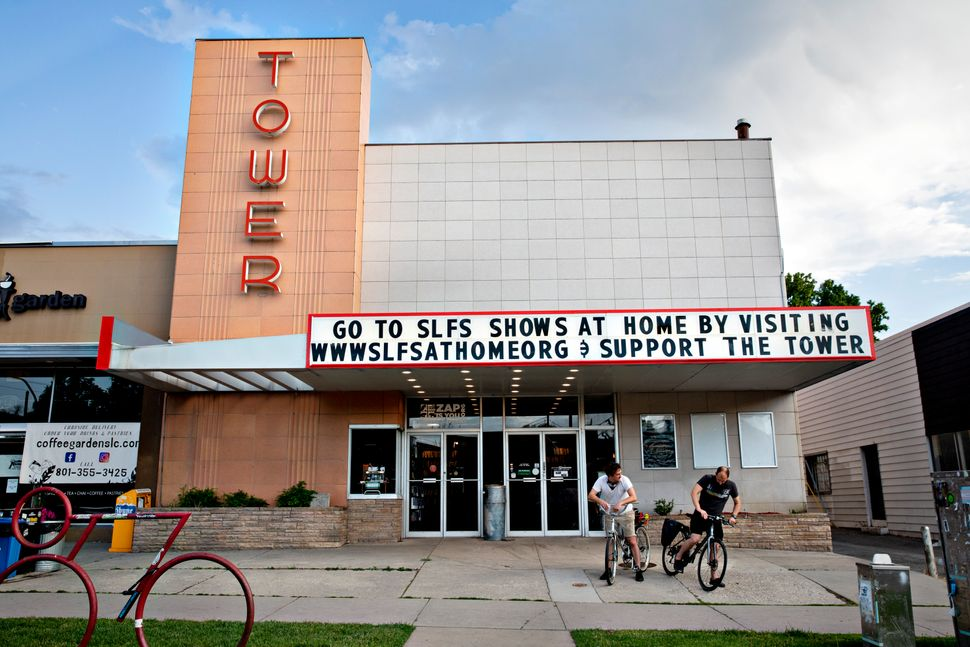 The Tower Theater in Salt Lake City is offering shows at home with proceeds helping the Salt Lake Film
