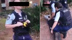 Footage Of NSW Police Officer Slamming Aboriginal Teenager To The Ground Goes