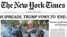 NY Times Ripped For 'Pathetic' Front-Page Trump Coverage