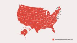 Un mapa vale más que mil palabras: todos los estados que se han levantado esta semana en EEUU contra el