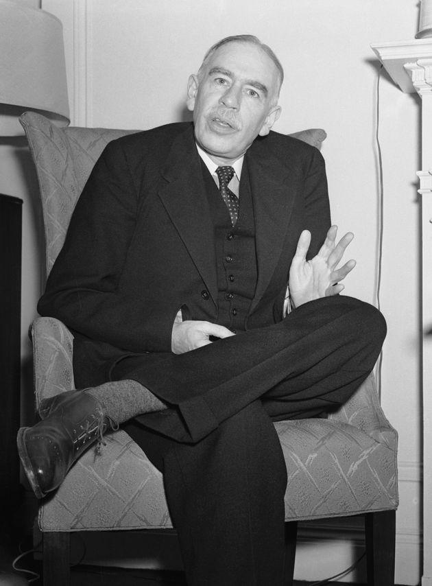 5/12/1941-ORIGINAL CAPTION READS: John Maynard Keynes, 1st Baron Keynes of Tilton (1883-1946). English...