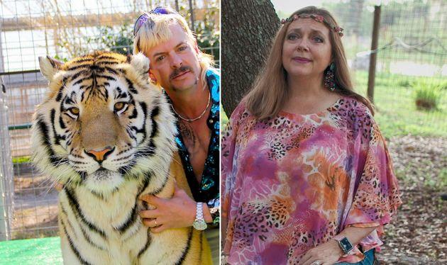 L'affrontement entre Joe Exotic et Carole Baskin, sur fond d'accusations de meurtre et de maltraitance...