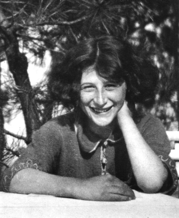 Simone Weil (1909-1943) in her schoolgirl years, 20th century, France, Private collection, . (Photo by:...