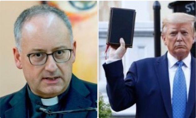 Padre Spadaro: Trump usa la Bibbia per il proprio potere dav