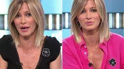 La flor de Susanna Griso: qué significa el broche que la presentadora de 'Espejo Público' luce desde hace