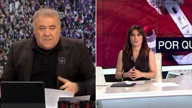 Antonio García Ferreras y Helena Resano