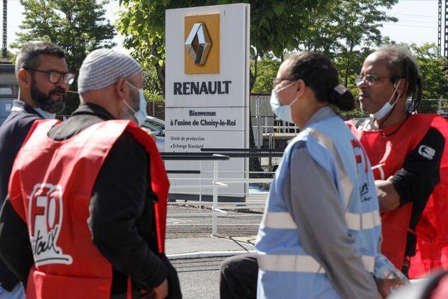 L'Etat va accorder son prêt à Renault, Choisy lance une grève reconductible (photo...