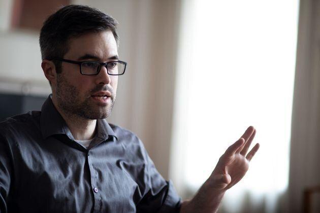 Mark Bray en una entrevista con 'El HuffPost' en