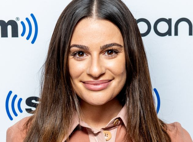 Lea Michele visits Sirius XM in December