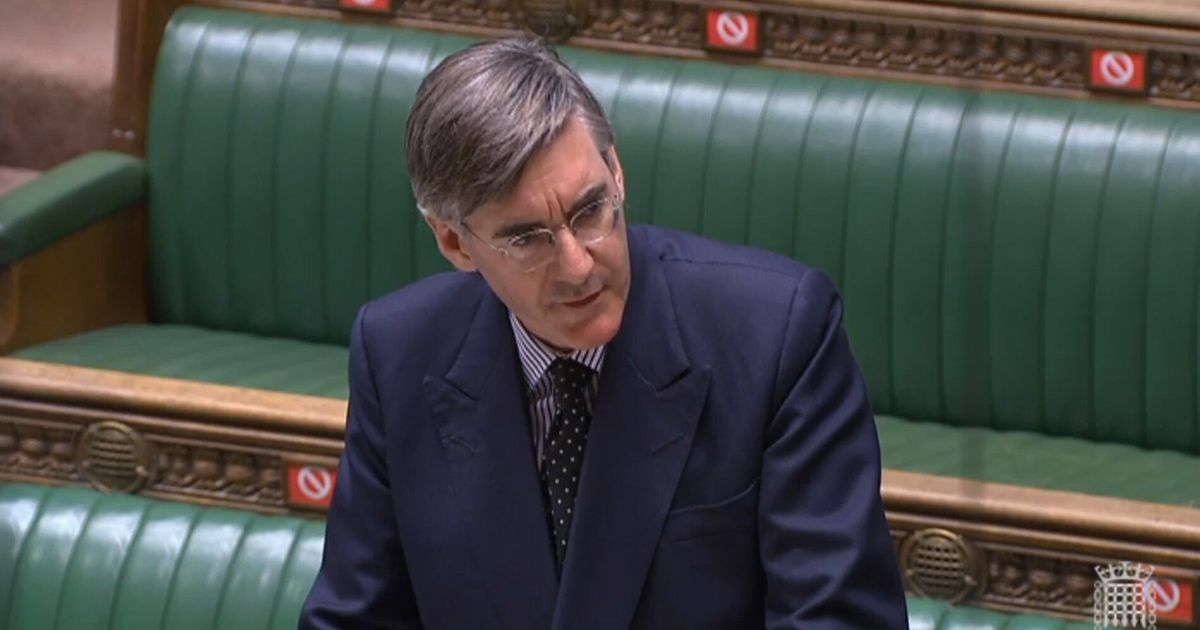 Jacob Rees-Mogg Forces MPs Into 'Absurd' Giant Socially Distanced Queue To Vote