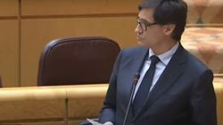 Salvador Illa felicita a Ana Mato y al PP por Fernando Simón y se lleva un enorme