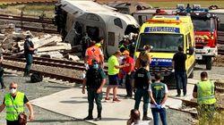 (VÍDEO) Así ha quedado el tren Ferrol-Madrid tras