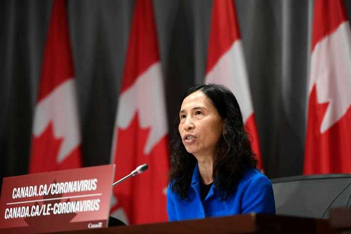 Dr. Theresa Tam participates in a news conference on the COVID-19 pandemic in Ottawa, on June 2, 2020.