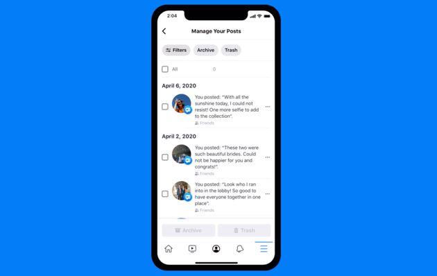 Facebook「過去投稿を一括削除」する新ツールを発表。プライバシー管理を強化