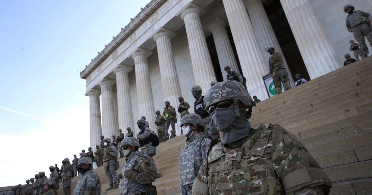 Trump Called In The Military To Scare Anti-Racist Protesters. They Showed Up Anyway