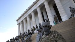 Chilling Image Of Masked Soldiers Blocking Lincoln Memorial Draws Outcry