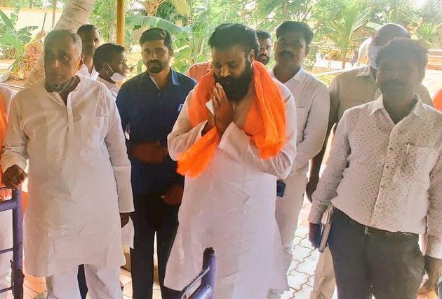 Sriramulu's visit to Chitradurga Periyeri Datta Peetha