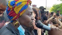 Le discours fort d'Aïssa Maïga contre les injustices au rassemblement pour Adama