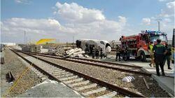 El maquinista herido en el accidente del Alvia en La Hiniesta (Zamora) se encuentra