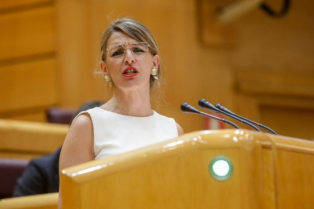 Yolanda Díaz, ministra de