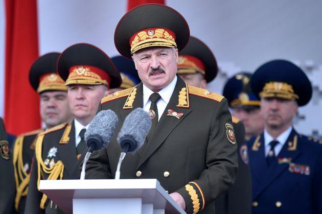 Ο πρόεδρος της Λευκορωσίας,Αλεξάντερ