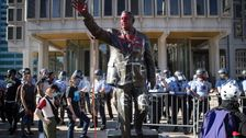 Philadelphia Removes Controversial Statue Of Ex-Mayor Frank Rizzo After Protests