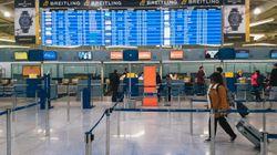 Προσωρινή απαγόρευση πτήσεων από και προς