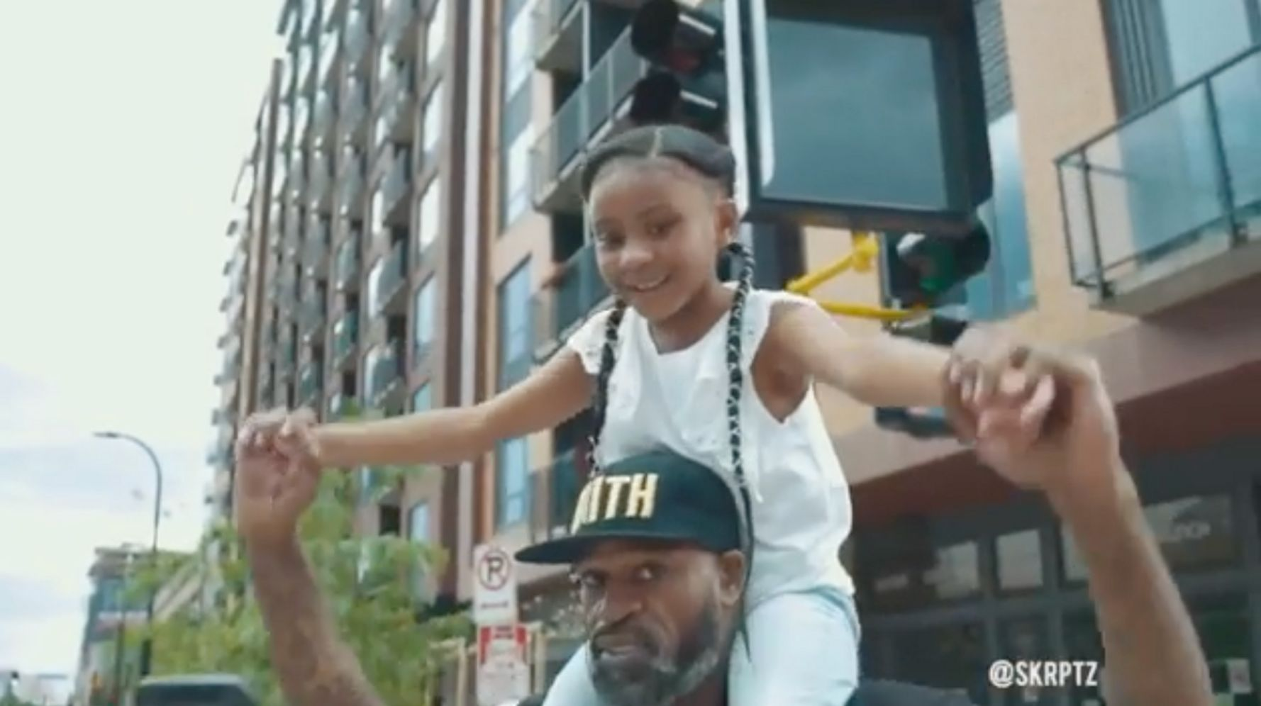 George Floyd's 6-Year-Old Daughter In Viral Video: 'Daddy Changed The World'
