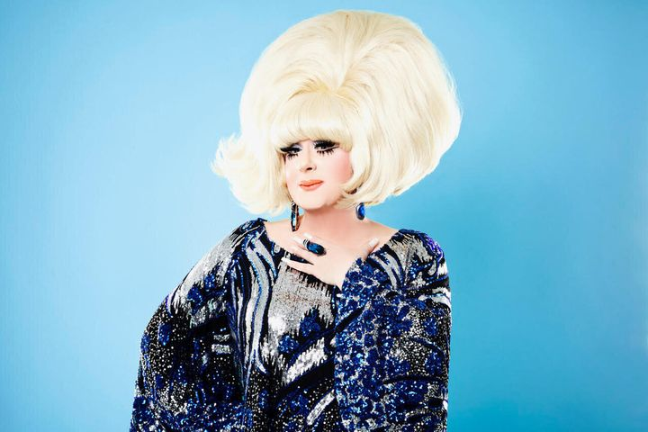 """Lady Bunny's new comedy special, """"Lady Bunny inCuntagious,"""" debuts Friday."""