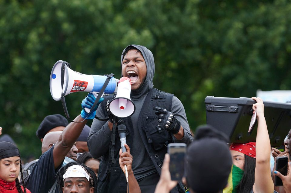 Photo by: KGC-247/STAR MAX/IPx 2020 6/3/20 Demonstators at a Black Lives Matter Protest in Hyde Park...