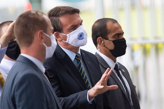 """Bolsonaro classificou as manifestações contra seu governo de """"terrorismo"""",..."""