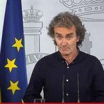 La reacción de Fernando Simón al enterarse en directo del Princesa de Asturias para los