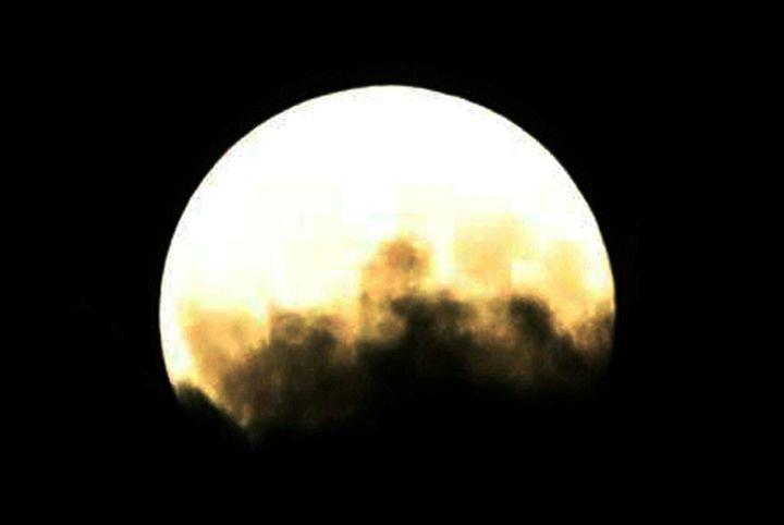 Eclipse penumbral de la Luna.