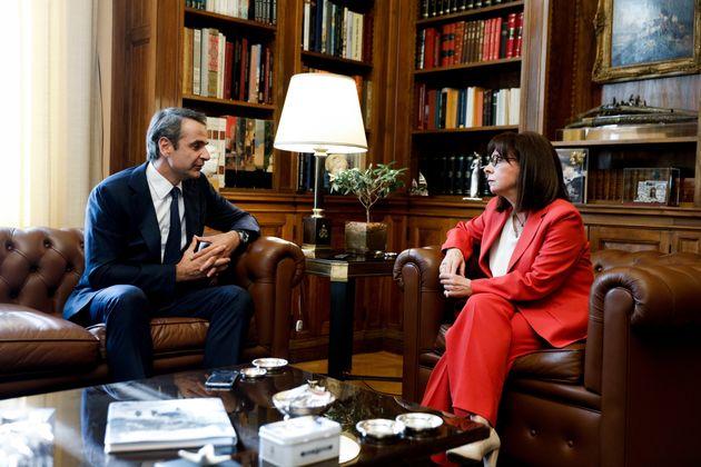 Μητσοτάκης στην ΠτΔ: Η χώρα θα αντιμετωπίσει όλες τις προκλήσεις με σταθερότητα, αυτοπεποίθηση και προσήλωση...