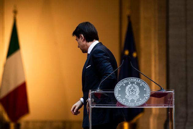 03/06/2020 Roma,Conferenza stampa del Presidente del Consiglio Giuseppe