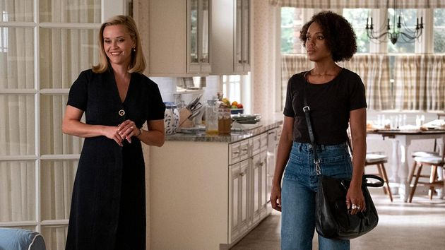 Reese Witherspoon e Kerry Washington como Elena Richardson e Mia